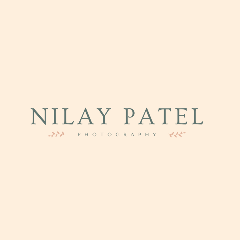 Nilay Patel Photography - Branding 2