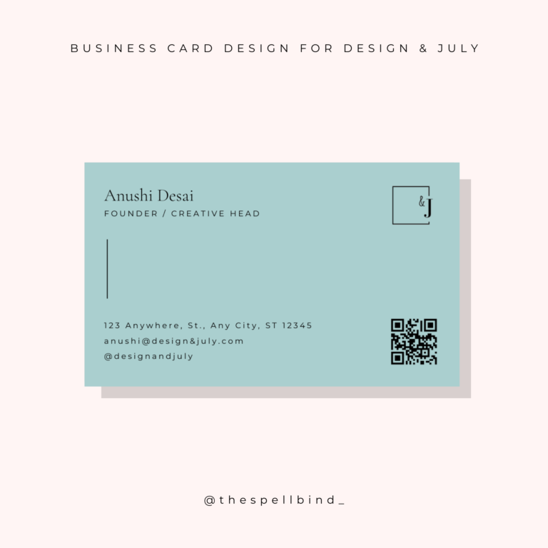 Design & July - Website Design & Branding 2
