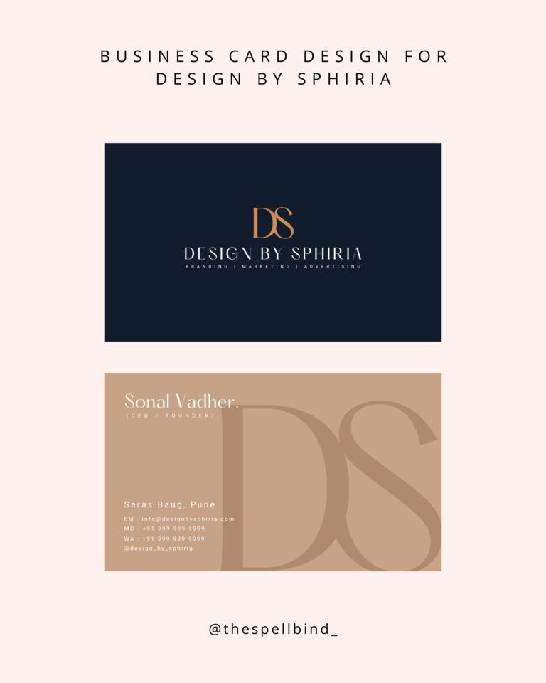 Design By Sphiria - Website Design & Branding 29