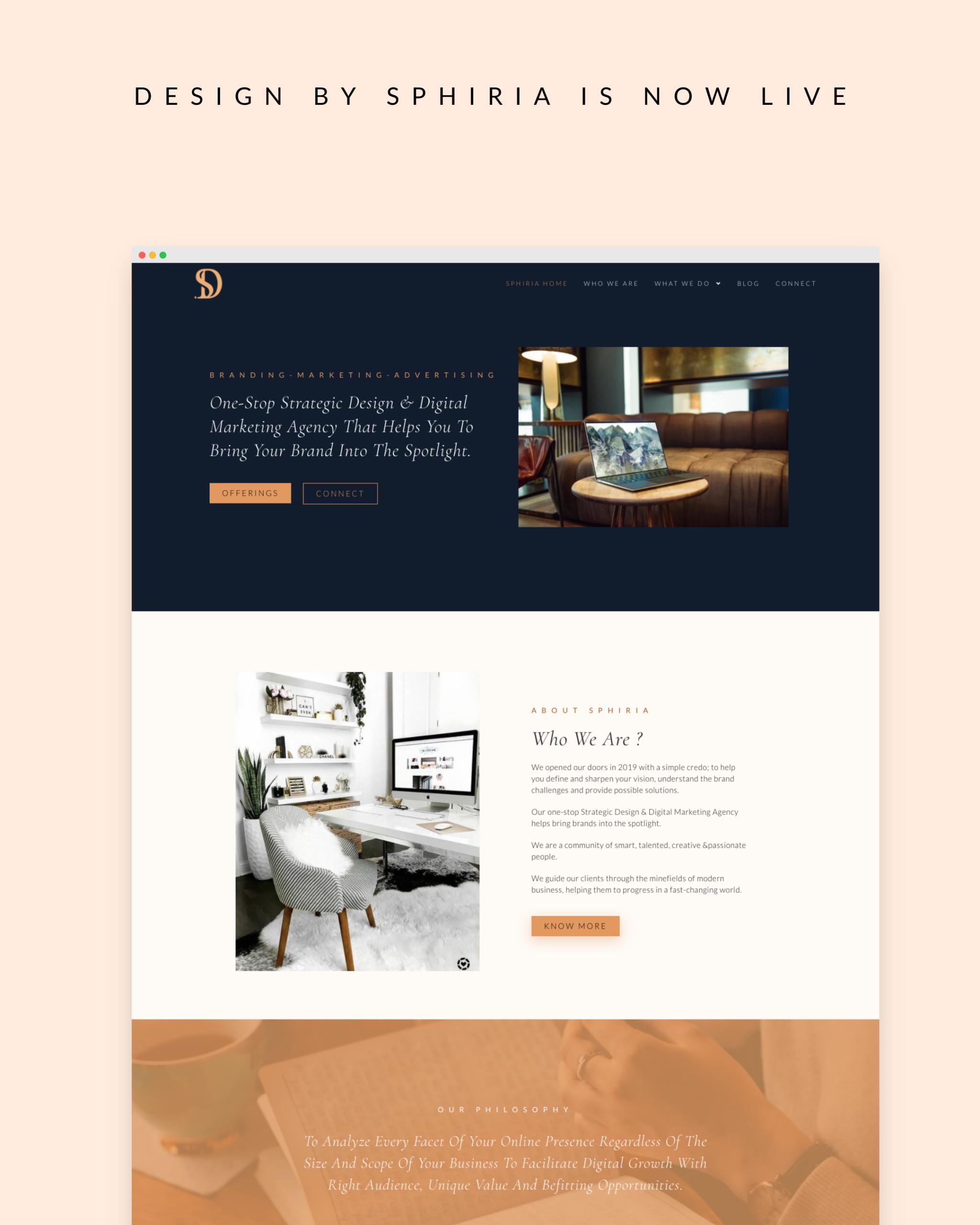 Design By Sphiria - Website Design & Branding 30