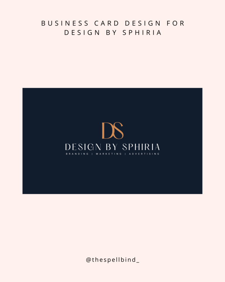 Design By Sphiria - Website Design & Branding 27