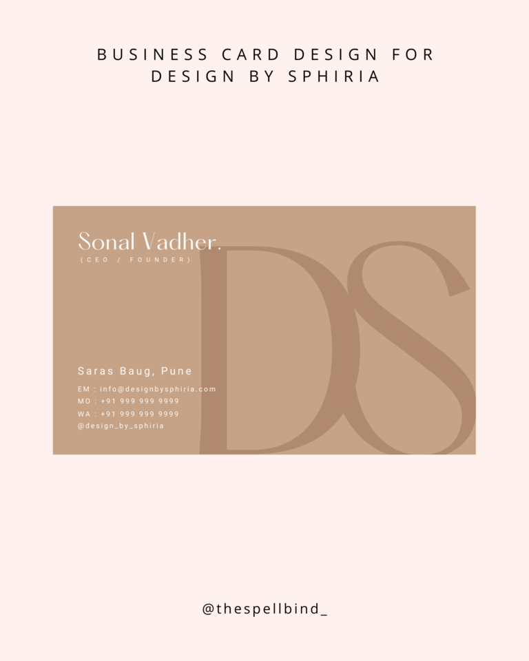 Design By Sphiria - Website Design & Branding 28