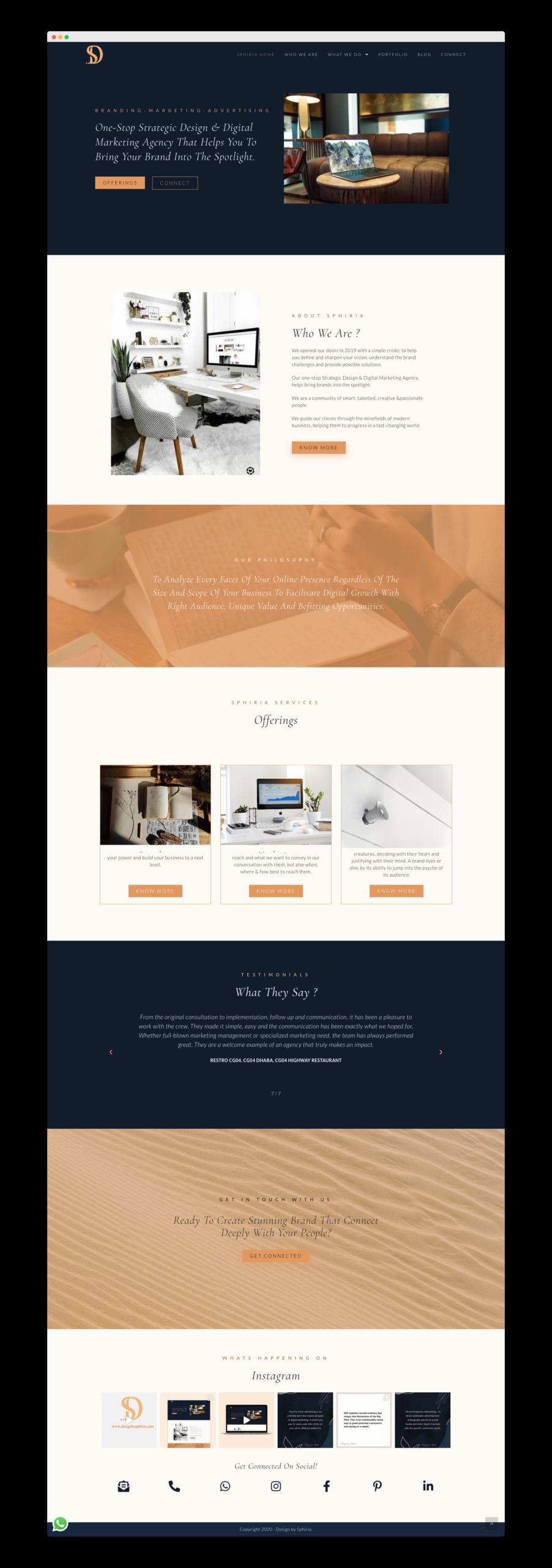 Design By Sphiria - Website Design & Branding 10