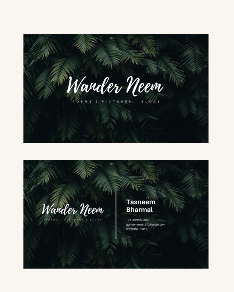 Wander Neem - Website Design & Branding 3
