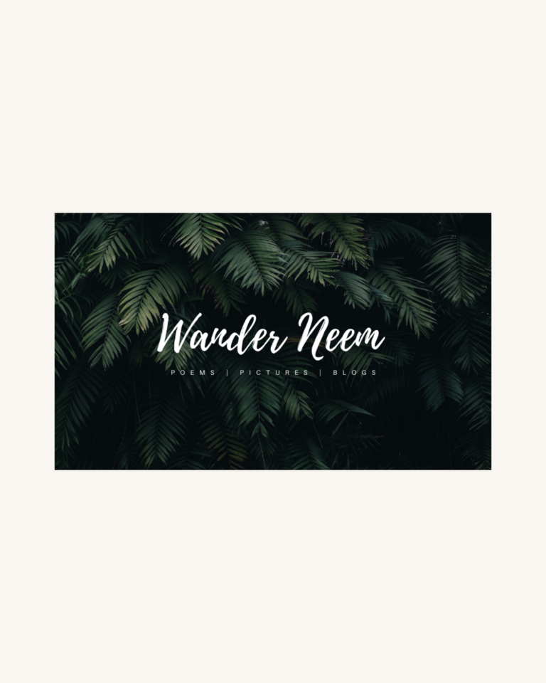 Wander Neem - Website Design & Branding 1