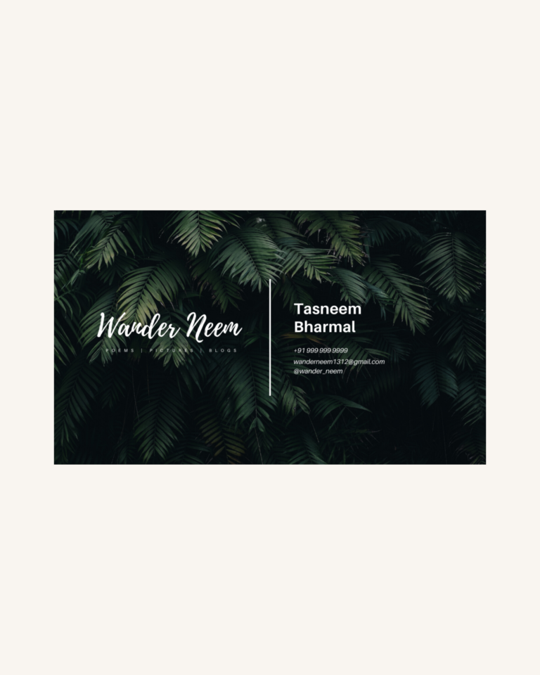 Wander Neem - Website Design & Branding 2